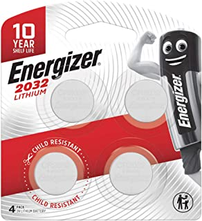 Energizer 2032 Coin Battery, Pack of 4
