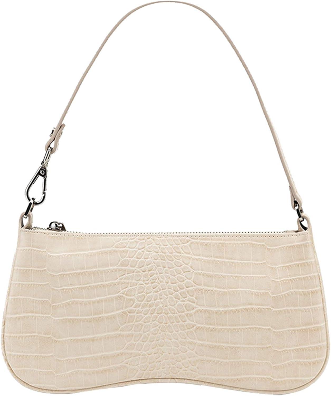 JW PEI 90s Shoulder Bag for Women Vegan Leather Crocodile Purse Classic Clutch Handbag
