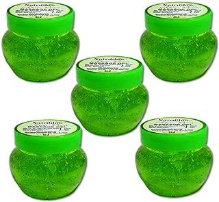 NutriGlow Aloe Vera Moisturizing Massage Gel 100gm Pack of 5