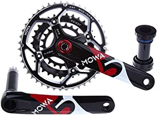 MOWA Five Mountain MTB Bicycle Bike Triple Cycling Crankset 44/32/22t 170mm 175mm for 7 8 9 Speed XC Enduro AM use