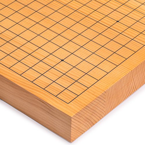 Yellow Mountain Imports 2 Inch Thick Shin Kaya Go Game Table Board (Goban)