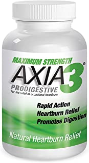 Axia Essentials  Axia3  ProDigestive Natural Heartburn Relief, 90 count