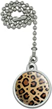 GRAPHICS & MORE Leopard Print Animal Spots Ceiling Fan and Light Pull Chain