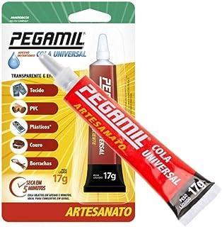Cola Universal Pegamil 17g - Cola Para Artesanato 1 Unidade