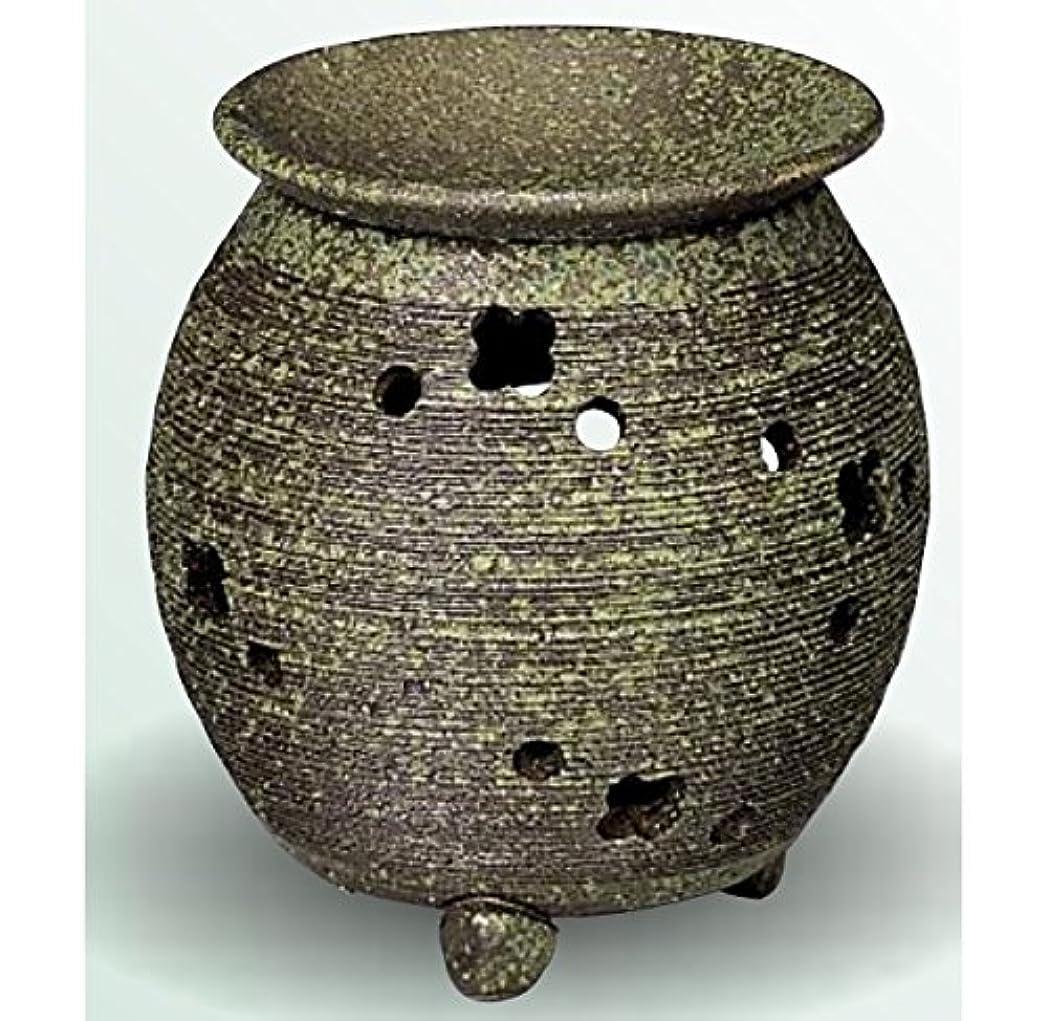 冗長家主シェトランド諸島常滑焼 茶香炉(アロマポット) 径10×高さ11.5cm