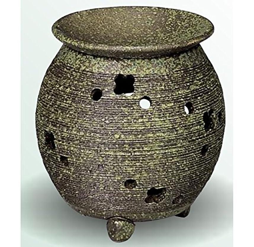 処分した南見かけ上常滑焼 茶香炉(アロマポット) 径10×高さ11.5cm