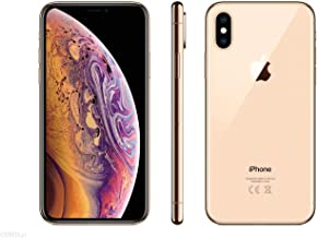 Apple iPhone Xs Max, AT&T, 64GB - Gold - (Renewed)