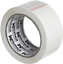 Wolfpack 14051300 Plakband/pakband, 48 mm x 66 m, wit