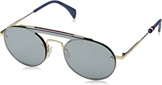 Tommy Hilfiger Women's Gigi Hadid 3/s GIGI3S Round Sunglasses, 083I T4, 99 mm