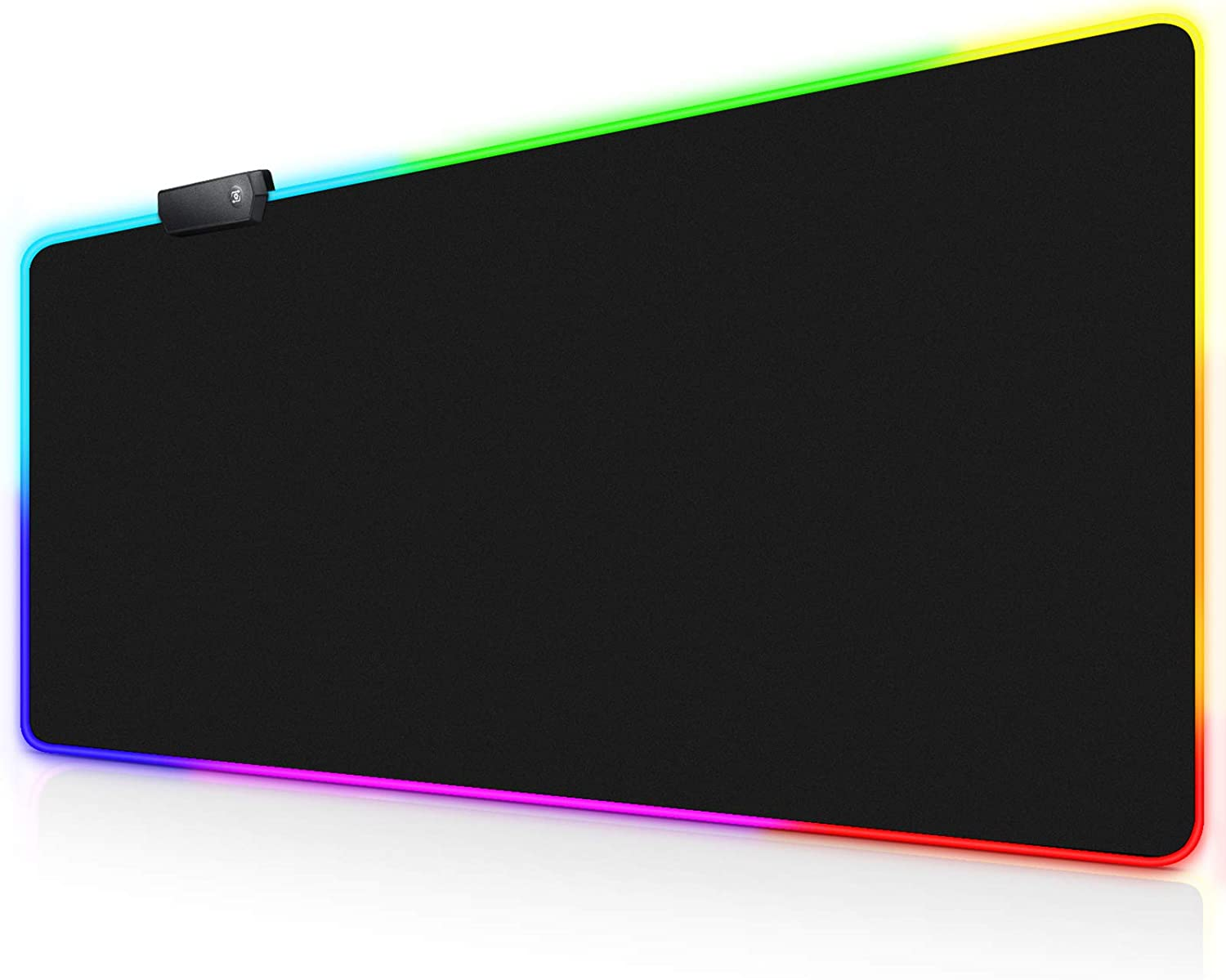 GGLTECK RGB Gaming Mouse Pad, XXL/Extended Mat Desk Pad 32