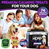Hemp Calming Treats for Dogs with Anxiety and Stress - 170 Soft Chews - Made in USA - Hemp Oil for Dogs - Dog Anxiety Relief - Natural Calming Aid - Stress - Fireworks | Aggressive Behavior #4