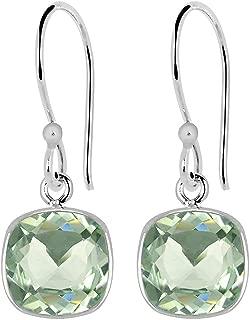 Best green amethyst earrings sterling silver Reviews