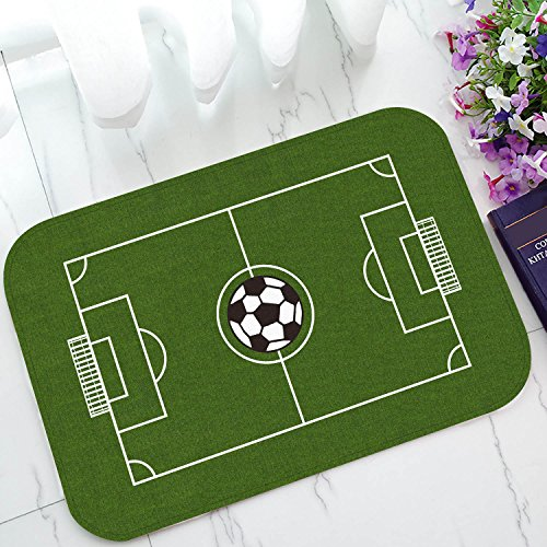 Custom Soccer Field Football Pitch Door Mats Cover Non-Slip Machine...