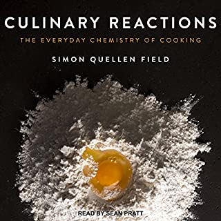 Culinary Reactions audiobook cover art