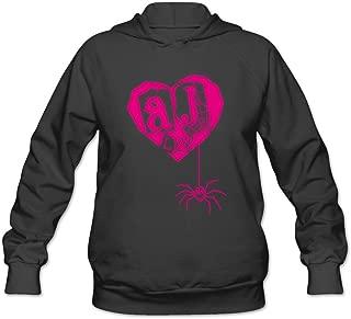 printing hoodies AJ Lee Logo Love Hoodies Sweatshirt For Women