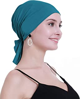 Bamboo Chemo Headscarf for Women Hair Loss - Cancer Slip On Headwear Turbans Sealed Packaging