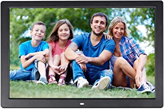 CWHALE 17 Inch Digital Photo Frame Digital Picture Frame Advertising Media Player 1440X900 HD Wide Screen Advertising Machine MP3//Photo//Video Player with Remote Control,White 16:9