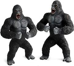 King Kong Toys for Kids, Orangutan Figurine, Solid Animal Chimpanzee Decoration