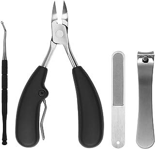 爪切り ステンレス製爪切りセット 甘皮ケアツール 収納ケース付き