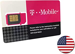 T-Mobile Prepaid SIM Card Unlimited Talk, Text, and Data in USA for 10 Days