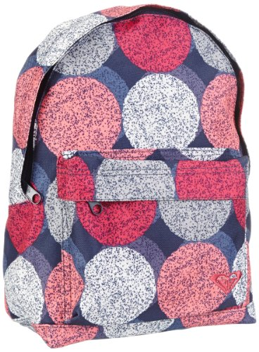 ROXY Unisex's Rucksack Always Core Dots X3 Bag Pack-Blue/Pink/White, Size One, cdr ax...