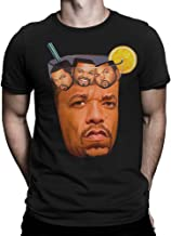 ice tea with ice cubes t shirt