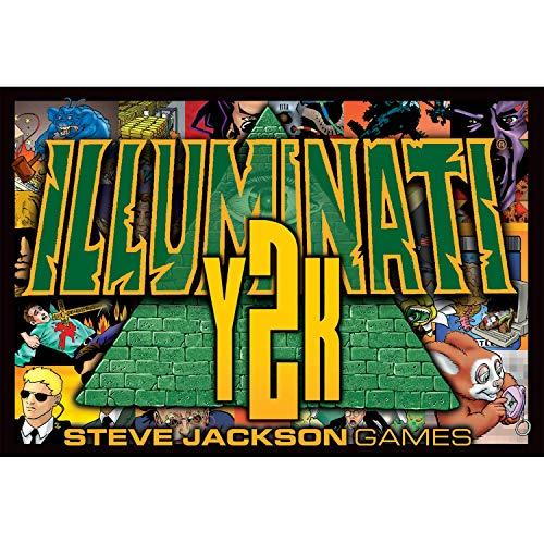 Pegasus Spiele Steve Jackson Games 1325 - Illuminati Y2K, englische Ausgabe