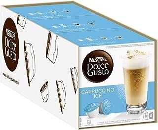 Nescafé Dolce Gusto Cappuccino Ice - Café Gourmand - 48 Capsules (3 boîtes x16)