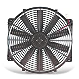Flex-a-lite 118 Black 16' LoBoy Electric Fan (puller)