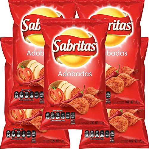SABRITAS ADOBADAS 45g (Box with 5 bags)
