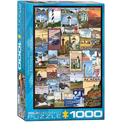 1000 piece puzzles lighthouse - 1