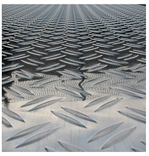 Aluminium Riffelblech duett 1000x1000mm1,5/2,0mm stark große Auswahl Tränenblech Warzenblech