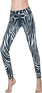 Women's Yoga Pants High Waist Workout Fashional 3D Printed Leggings Yoga Pants