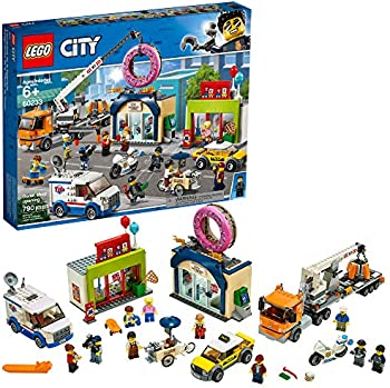 LEGO City Donut Shop Opening Easy Build With Minifigures