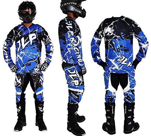 Traje Niños 5/6Años Moto Cross Quad Montaña BMX MTB Pantalón Guantes Maillot...