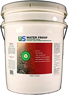 IWS Water Proof (5 Gallon) Waterproofing Coating - Easy to Apply - Environmentally Friendly - No VOC's