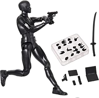 Zandreal Body Chan & Kun Doll Male Female DX Set PVC Movebale Action Figure Model for SHF Gifts Suitable for Sketching, Pa...