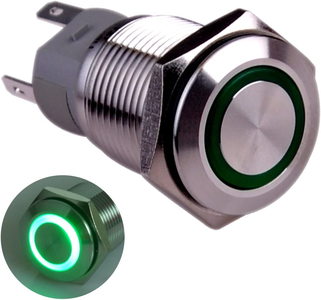 Taien Latching Pushbutton Fixed price for sale Switch 16mm ON 5 Mounting 8