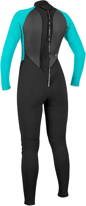 ONeill Wetsuits Womens Reactor-2 3//2mm Back Zip Full Wetsuit