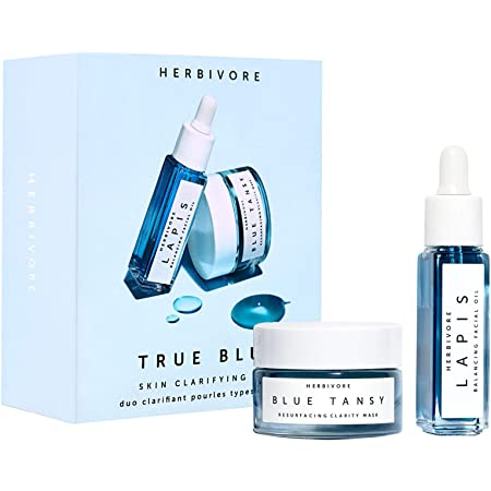 Herbivore - True Blue Natural Mini Skin Clarifying Duo   Truly Natural, Clean Beauty