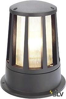 SLV 230435 CONE utomhusbelysning, antracit, E27, max. 100W, IP54, aluminium, sten grå, ,