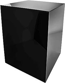 """دارندگان بازاریابی جعبه نمایش جعبه نمایش مجسمه سازی پایه پایه کلکسیونی مکعب جلد تیزر اکریلیک نمایشگاه نمایشگاه نمایشگاه نمایشگاه عروسی 5 طرفه 12 """"عرض x 18"""" ساعت x 12 """"د بسته سیاه 1"""
