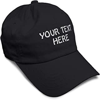 Soft Baseball Cap Custom Personalized Text Cotton Dad Hats for Men & Women