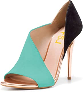 Women Sexy Peep Toe Cutout Pumps Sandals D'Orsay Stiletto Heels Party Evening Shoes Size 4-15 US