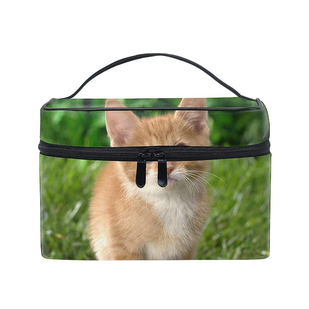 有望ただロッジ動物猫トイレタリーバッグ 収納ケース メイク収納 小物入れ 仕分け収納 防水 大容量 出張 旅行用