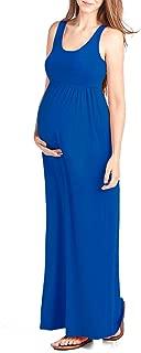 Women's Maternity Maxi Tank Dress Made in USA