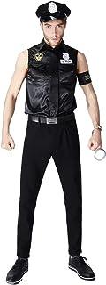 Traje de policía SWAT Uniforme - Conjunto Disfraces para Damas y Caballeros Carnaval y Cosplay - una Talla Todos (Herren)
