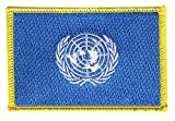 Flaggenfritze Flaggen Aufnäher UNO Fahne Patch + gratis