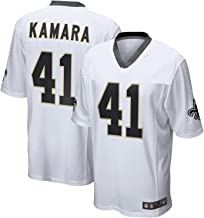 Outerstuff Alvin Kamara New Orleans Saints NFL Youth 8-20 White Road Mid-Tier Jersey