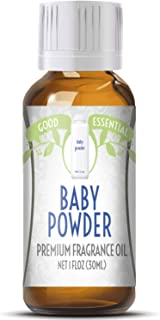Baby Powder Scented Oil by Good Essential (Huge 1oz Bottle – Premium Grade..